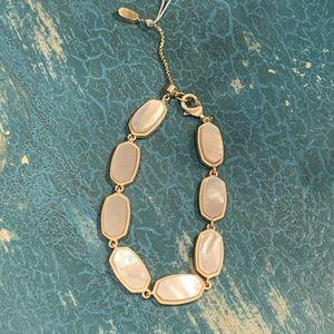Kendra Scott Millie Gold Link Bracelet New